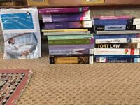 Law books and Study Notes for Sale