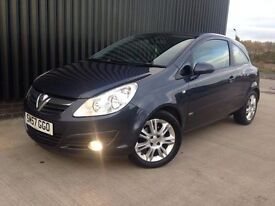 2007 (57) Vauxhall Corsa 1.3 CDTi 16v Design 3dr (a/c) Diesel May Px