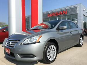 2014 Nissan Sentra 1.8 S, BLUETOOTH, LED ACCENTS, CRUISE