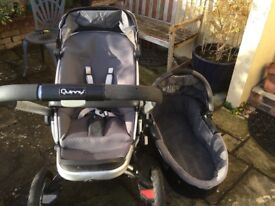 Quinny Buggy - well used but serviceable. With some accessories.