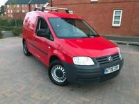 2006/06 VOLKSWAGEN CADDY VAN 2.0 SDI DIESEL YEARS MOT NO VAT!!! DRIVES SUPERB