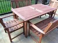 Patio set / table and chairs (possible delivery)