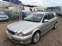 2005 55 JAGUAR X TYPE DIESEL SUPERB CONDITION FOR THE YEAR AND MILES LEATHER ...