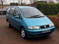 2000 Seat Alhambra/ VW Sharan/ Ford Galaxy 1.9TDi Automatic - 12 Months MOT - 7 Seat- Fully Serviced