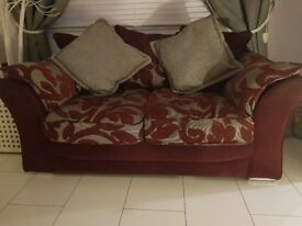 3 seater and 2 seater sofas £200
