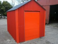 shed storage lawnmower motorbike