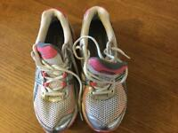 Ladies Asics Gel pulse 4 running shoes size 37.5