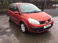 2006 RENAULT SCENIC 1.5 DCI,,,,PRICE; 1290 ONO PX/EXCH
