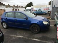 V.W GOLF FSI S 2005, BREAKING FOR SPARES