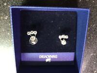 Swarovski ladies earrings never worn