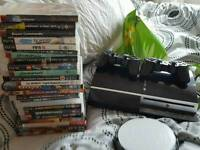 PS3 CONSOLE 2 PADS LOADS GAMES