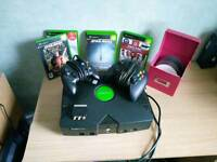 Original Xbox and games