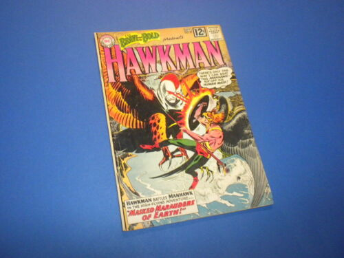 THE BRAVE AND THE BOLD #43 Hawkman DC Comics 1962