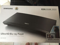 SAMSUNG ULTRA HD Blue-ray UBD-K8500 BrandNEW unopened factory seal on the box under Samsung warranty