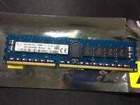 Hynix 16GB (2 x 8GB) ECC DDR3 Server RAM PC3L-12800R HMT41GR7AFR8A-PB