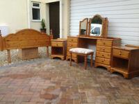 Bedroom Furniture - 6 piece Ducal Pine Furniture