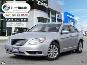 2012 Chrysler 200 TOURING 4CYL | HTD SEATS, ALLOYS, FOGS