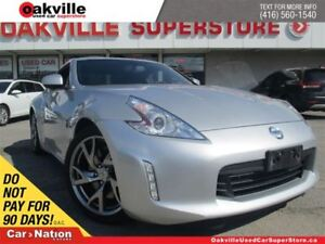 2013 Nissan 370Z ONE OWNER   6 SPEED M/T   BLUETOOTH   LEATHER