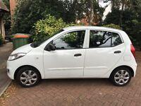 HYUNDAI I10 CLASSIC 2011/61 REG WHITE 5 DOOR 1.2 PETROL MANUEL 41000 MILES