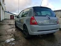 Renault clio sport 172 respray in bodyshop not type r vxr rs st gti track car px swap possibly