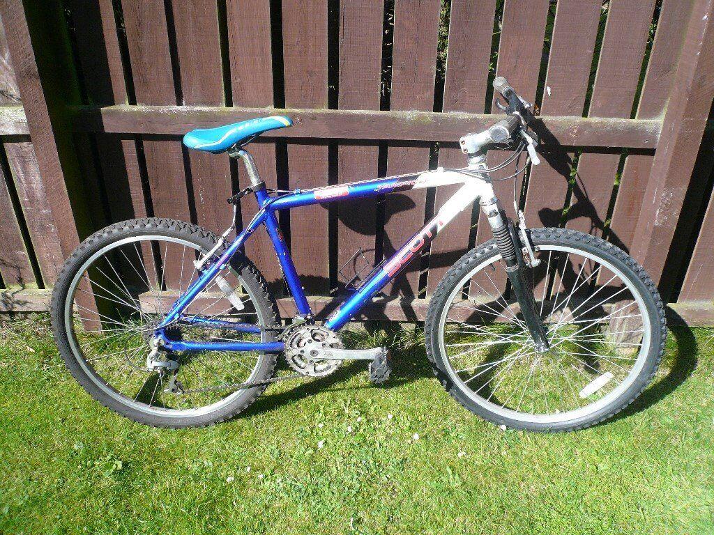 Mans Scott Bike