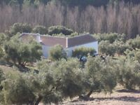 Country Cottage with panoramic views across to the Sierra de Alhama National Park