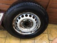 Sprinter/ crafter wheels with tyres