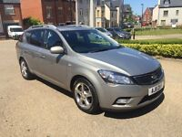KIA CEE D 1.6 CRDI DIESEL ESTATE 2011 FULL SERVICE HISTORY £30 ROAD TAX 1 OWNER 12 MONTHS MOT