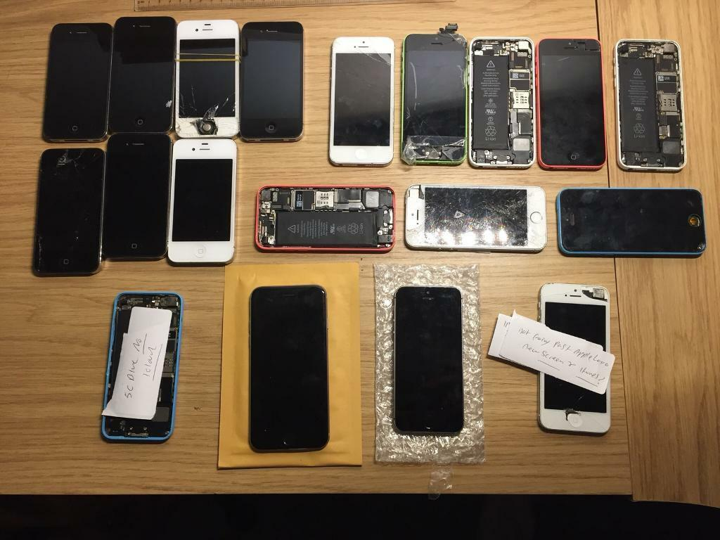 Massive mobile phone Job Lot & New Screens!