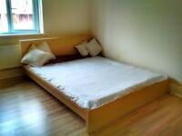 King Size IKEA Malm Bed + FREE Mattress