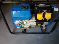 Wolf Profesional WPX2800 petrol generator used Once.