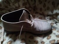 Hudson Men Shoes - Italian, Real Suede Size 42-44 (8-9 UK)