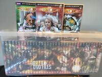 The Doctor Who Files DVD's .. No's 1 to 40