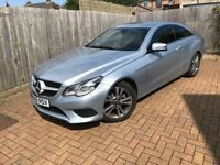 2013 Mercedes-Benz E Class Coupe E220 CDI SE 7G-Tronic Plus (45,000 miles) FMBSH. UK delivery.
