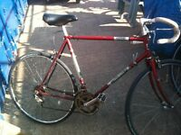 Vintage Retro Racer Racing bike bicycle halfords competitor