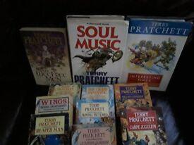 Terry Pratchett novels