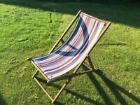 Foldable deckchairs x 2. Nice condition.
