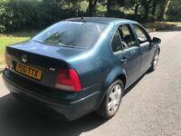 Volkswagen bora 2001 low miles cheap car