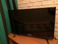 "32"" Blaupunkt LED Flatscreen HD with built in free view tv"