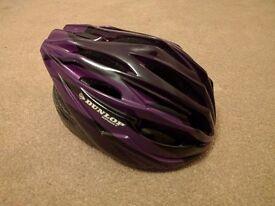 Women's Purple Bike Helmet