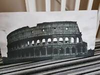 Large collesum black and white high quality print canvas picture
