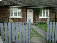Cowlinge 2 bed bungalow, swap for council similar Elmswell or within 10 miles