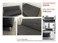 SOFA BED, EXCELLENT COND.