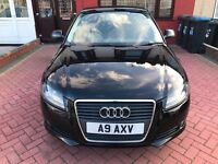 Audi A3 1.9 TDI SE 3dr 2009 BLACK *Excellent Condition*