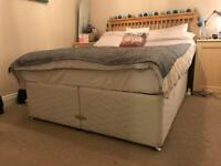 Divan double bed base CAN DELIVER