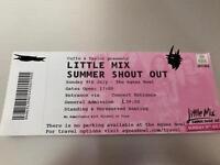Little mix tickets Southampton 9th July