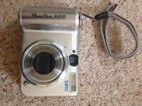 Canon video camera powershot A610