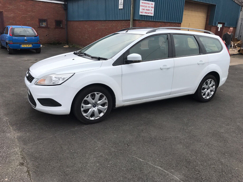 Ford Focus 1.8 TDCi Style 5dr - 1 Owner (Ex Police), 12 Months MOT (Sept 2018), Drives Great! £1095