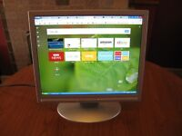 Advent 17inch LCD Flat Screen Monitor with VGA input