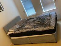 Double bed Devon essentials Double divan